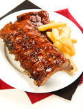 Barbecue Ribs royalty free stock photos