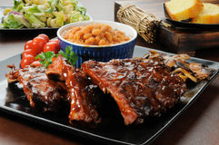 Barbecue Ribs Stock Photography