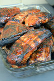 Barbecue Ribs for the family meals Royalty Free Stock Photo