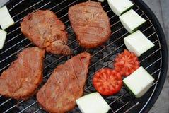 Barbecue sain de vitalité Images stock