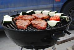 Barbecue sano di vitalità Immagine Stock