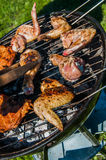 Barbecue saturated composition Royalty Free Stock Photography