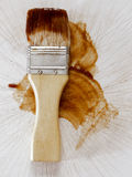 Barbecue sauce basting brush Royalty Free Stock Photo