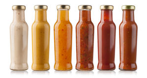 Barbecue Sauces Royalty Free Stock Photos