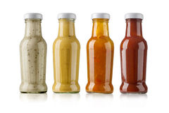 Barbecue sauces Stock Image