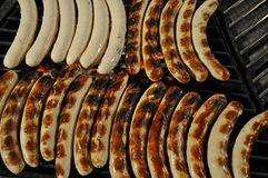 Barbecue sausage Stock Image