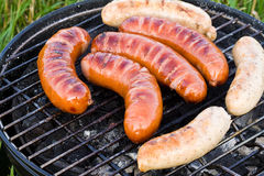 Barbecue Sausages Stock Image