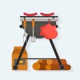 Barbecue. Royalty Free Stock Photos