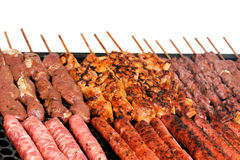Barbecue skewers Royalty Free Stock Image