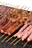 Barbecue skewers Stock Photo