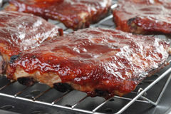 Barbecue Spareribs Stock Photography