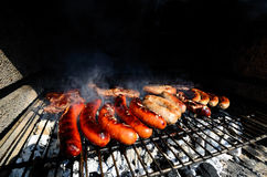 Barbecue in the summer Stock Photography