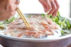 Barbecue tailandese Immagini Stock Libere da Diritti