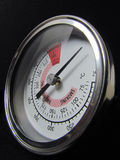 Barbecue temperature gauge Royalty Free Stock Images