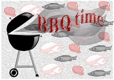 Barbecue time Stock Images