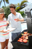 Barbecue time Stock Image