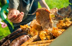 Barbecue Time Royalty Free Stock Images
