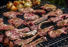 Barbecue time Royalty Free Stock Image