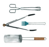 Barbecue tools set Royalty Free Stock Photography