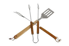 Barbecue Utensils Royalty Free Stock Images