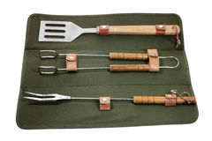 Barbecue Utensils Stock Photography