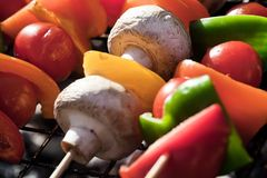 Barbecue Vegetables Royalty Free Stock Photo