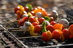 Barbecue Vegetables Royalty Free Stock Photos