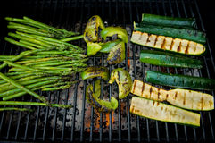 Barbecue vegetables Stock Image