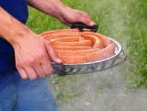 Barbecue vooruit Royalty-vrije Stock Afbeeldingen