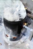 Barbecueaansteker Stock Afbeelding