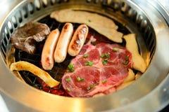 Barbecued корейский стиль Стоковое фото RF