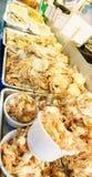 barbecued ноча taiwan рынка еды Стоковое фото RF