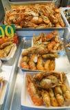 barbecued ноча taiwan рынка еды Стоковая Фотография RF