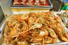 barbecued ноча taiwan рынка еды Стоковое Изображение RF