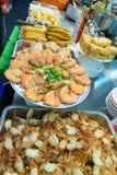 barbecued ноча taiwan рынка еды Стоковая Фотография