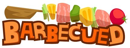 Barbecued Royalty Free Stock Photo