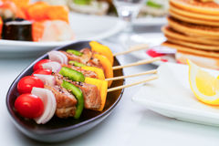 barbecued foto de stock royalty free