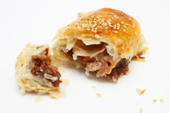 Barbecued Chicken Pastry Royalty Free Stock Photography