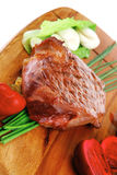 Barbecued meat : beef ( lamb ) Stock Photography