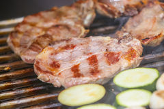 Barbecued meat Royalty Free Stock Image
