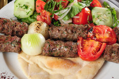 Shish kebab. Stock Photo
