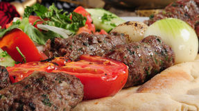 Shish kebab. Royalty Free Stock Photo
