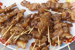 Barbecued Pork Stock Photo