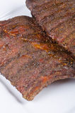 Barbecued Pork Back Ribs Royalty Free Stock Photos