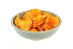 Barbecued potato chips Royalty Free Stock Image