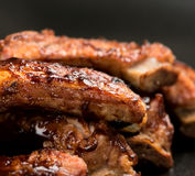 Barbecued ribs Stock Image