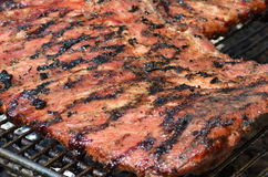 Barbecued Ribs Royalty Free Stock Photography