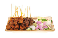 Barbecued Satay Stock Photos