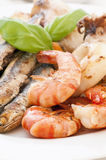 Barbecued Seafood Stock Photos