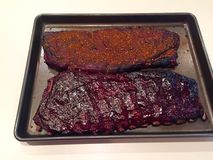 Barbecued Spareribs Royalty Free Stock Photos